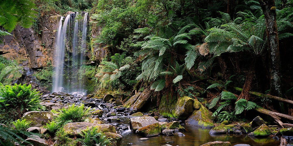 Beaumont Falls by mgimagery