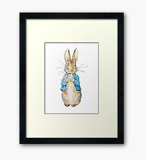 Peter Rabbit Framed Print