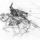 samurai by Natalya   Tabatchikova