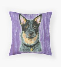 Beaut Australian Cattle Dog Throw Pillow