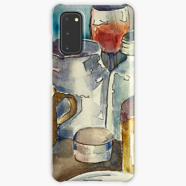 Still Life with Wine Glass Samsung Galaxy Snap Case