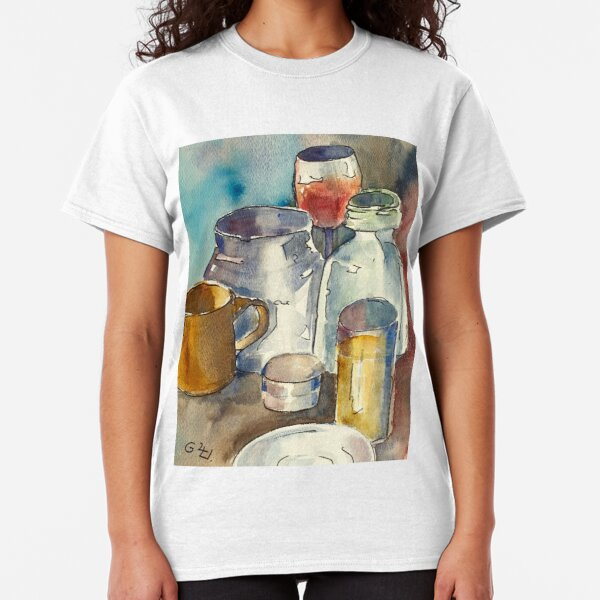 Still Life with Wine Glass Classic T-Shirt