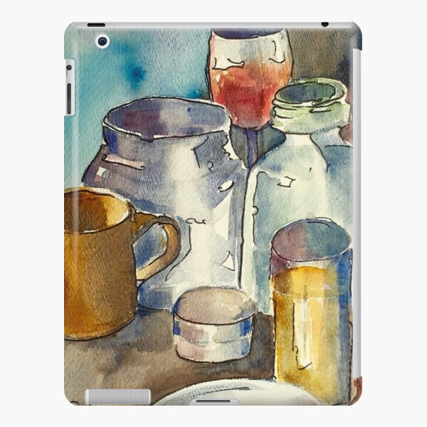 Still Life with Wine Glass iPad Snap Case