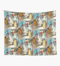Still Life with Wine Glass Wall Tapestry