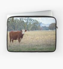 Hereford Cow.......... Laptop Sleeve