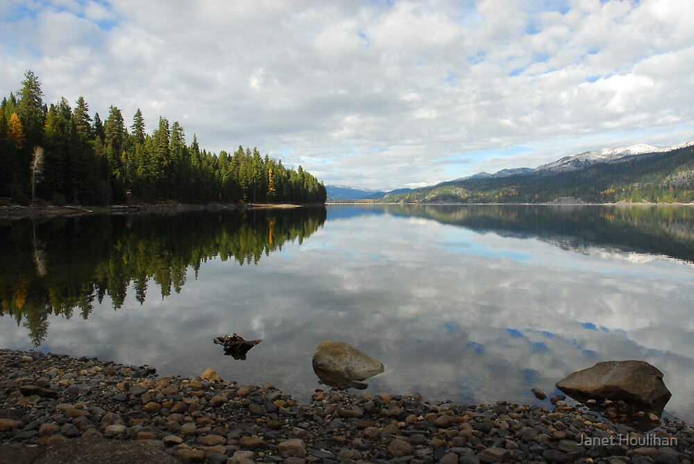 Payette Lake  by Janet Houlihan