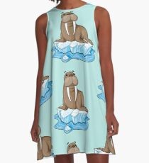 save walrus A-Line Dress
