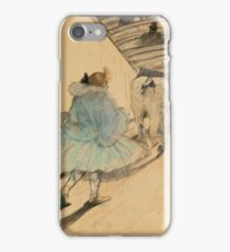 Henri De Toulouse Lautrec - At The Circus Entering The Ring 1899 iPhone Case/Skin