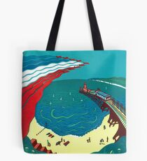 Red Arrows, Bournemouth Beach Tote Bag