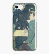 Henri De Toulouse Lautrec - A Corner Of The Moulin De La Galette 1892 iPhone Case/Skin