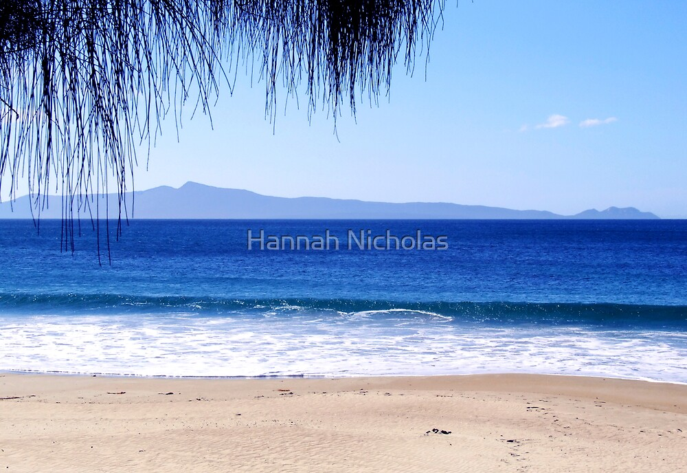 Looking out to Freycinet National Park, Tasmania by Hannah Nicholas