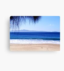 Looking out to Freycinet National Park, Tasmania Canvas Print