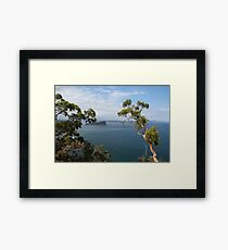 West Head Lookout NSW Framed Print