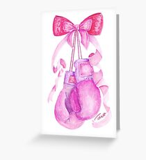 Cute & Strong Greeting Card