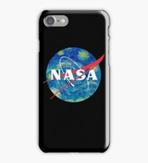 Nasa Night Space Painting iPhone Case/Skin