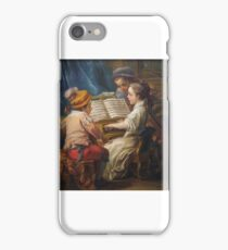 Carle Vanloo, artist French, oil on canvas iPhone Case/Skin