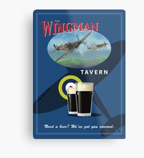 The Wingman Tavern Metal Print