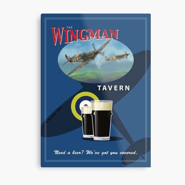 The Wingman Tavern Metal Print