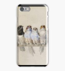 Hector Giacomelli - A Perch Of Birds iPhone Case/Skin