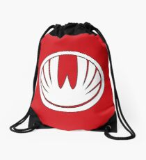 Red Wind Ranger - Ninja Storm Drawstring Bag