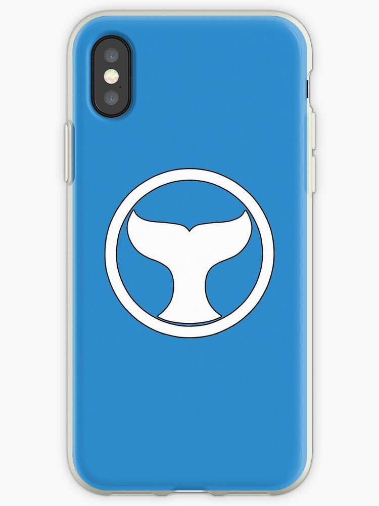 Blue Wind Ranger Ninja Storm Iphone Cases Covers By Grinalass