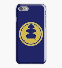 Navy Thunder Ranger - Ninja Storm iPhone Case/Skin