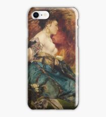 Hans Makart - The Japanese 1870 iPhone Case/Skin