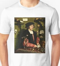 Hans Holbein The Younger - The Merchant Georg Gisze 1532 T-Shirt