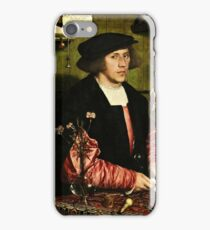 Hans Holbein The Younger - The Merchant Georg Gisze 1532 iPhone Case/Skin