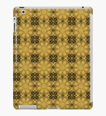 Spicy Mustard Floral Geometric iPad Case/Skin