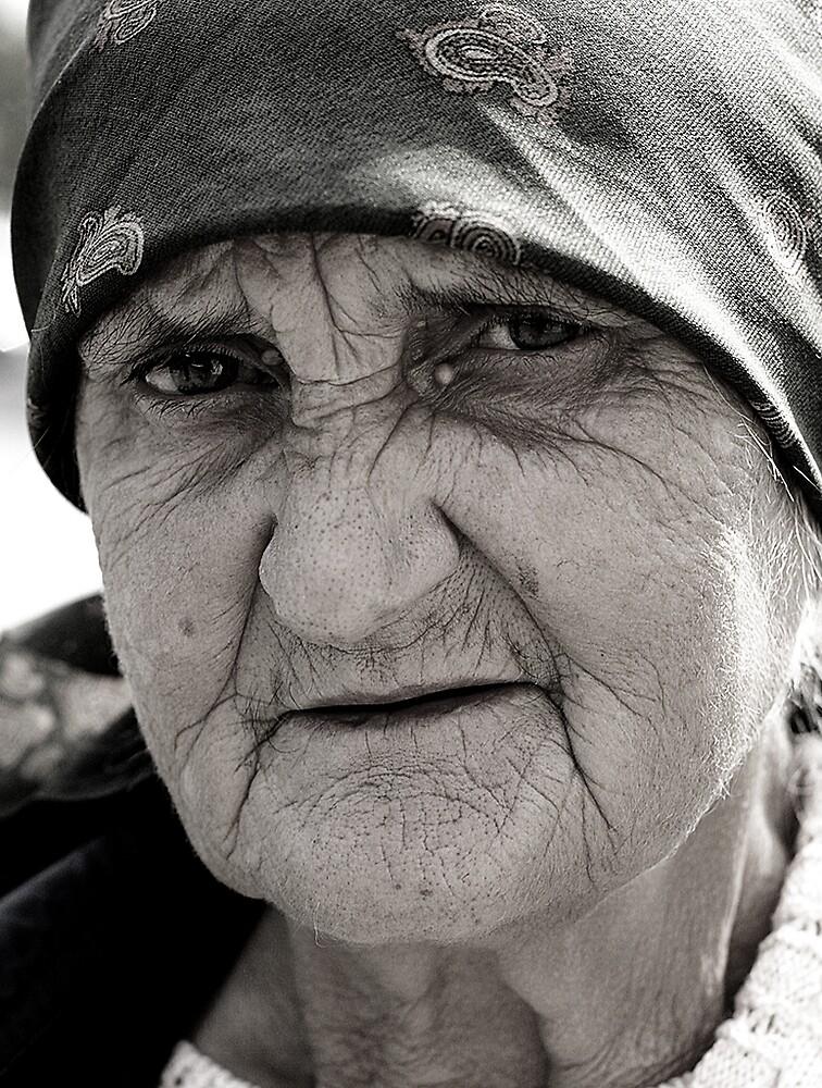 Old Woman by Dan Cretu