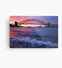 Morning Wake - Sydney Harbour, Sydney Australia Metal Print