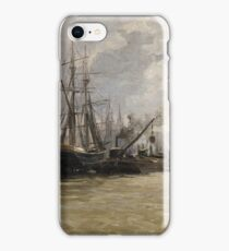Haes, Carlos De - The Port Of Rouen iPhone Case/Skin