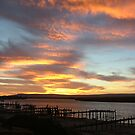 sunset over the berg river by emem
