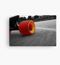 Life Of A Longboarder Canvas Print