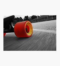 Life Of A Longboarder Photographic Print