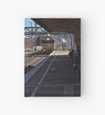 Train Station in Goulburn/NSW/Australia (4) Hardcover Journal