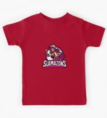 The Slamazons Kids Tee