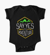 Say Yes To Adventure One Piece - Short Sleeve