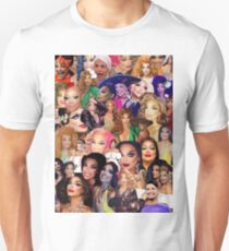 Valentina Collage  Unisex T-Shirt