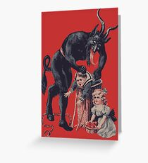 Merry Christmas from Krampus! Greeting Card