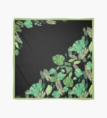 Bold Two Tone Tropical Night  Scarf