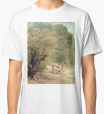 Gustave Courbet - The Hunted Roe - Deer On The Alert, Spring Classic T-Shirt