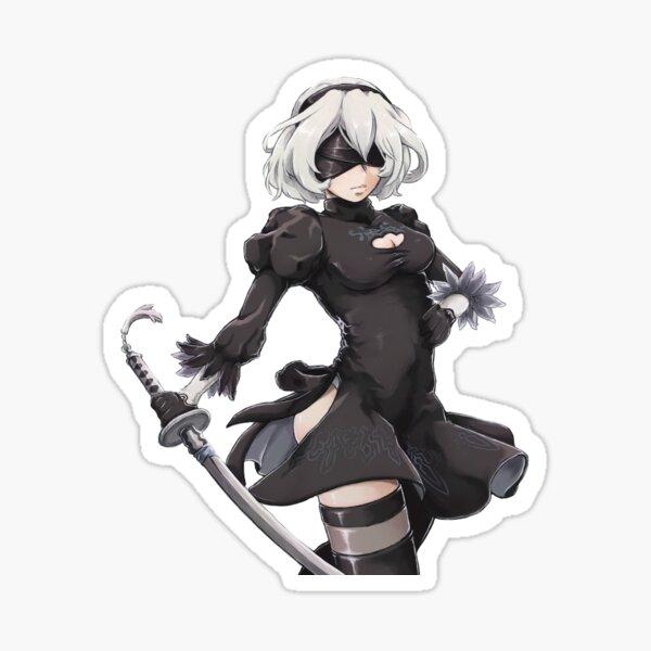 NieR Automata - 2B Sticker