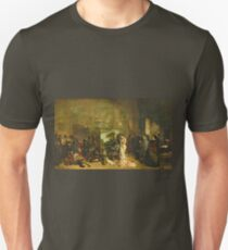 Gustave Courbet - The Studio Of The Painter, A Real Allegory Unisex T-Shirt