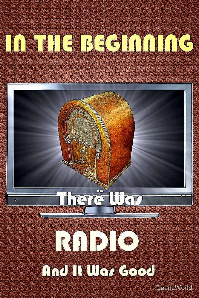 In The Beginning....RADIO by Dean Warwick