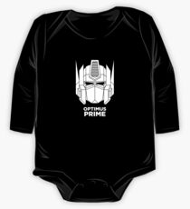 Optimus Prime - White color version One Piece - Long Sleeve
