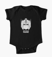 Optimus Prime - White color version One Piece - Short Sleeve