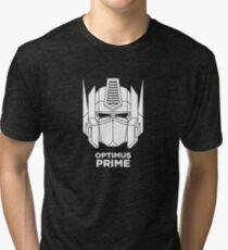 Optimus Prime - White color version Tri-blend T-Shirt