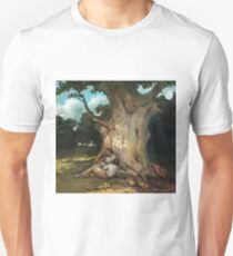 Gustave Courbet - The Large Oak Unisex T-Shirt